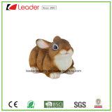 País Realista Resina Bunny Figurine Primavera Easter Everyday Decor