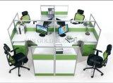 현대 사무용 가구 3 사람 사무실 칸막이실 워크 스테이션 (SZ-WS244)