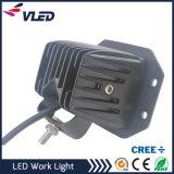 도로 18W 떨어져 자동차는 마운트 LED 12V 24V DC 트럭 차 배 바 4X4를 위한 소형 24W LED 일 빛을 내뿜는다