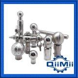Soudure rotatif/fixe/filetage/collier sanitaire le nettoyage de la bille en acier inoxydable