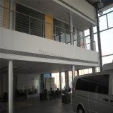 Deux étages en acier cadre voiture Showroom bâtiment avec bureau