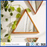 el hexágono decorativo 6m m claro de 2m m 3m m 4m m 5m m diseña el espejo de la pared