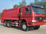 16mt de Vrachtwagen van de Pers van het Afval van de Compressie van het Huisvuil HOWO