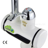 Faucet imediato elétrico do aquecimento da indicação digital do diodo emissor de luz para a torneira da bacia da cozinha