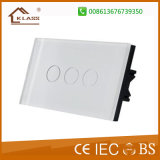 LED 표시기를 가진 전기 벽 스위치 등화관제 접촉 스위치