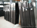 Vidrio de flotador negro teñido para la decoración de la casa (CB)