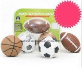 Mini conjunto de la bola de los deportes del rugbi del baloncesto del fútbol de los niños
