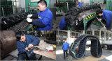 Patins en caoutchouc de haute qualité 250 ht Tampon d'excavateur