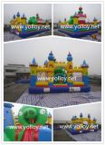 New Design Inflatable Funny City with Climbing Amusement Park