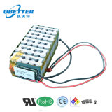 Batería de ion de litio de manufactura 24V 18Ah LiFePO4 battery Pack para luz de Navidad y el almacenamiento de energía