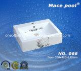 Lavage des mains sanitaire de bassin d'art de grand dos d'articles (066)
