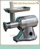 MiniEdelstahl-beweglicher gefrorener Fleischwolf, Fisch-Fleisch-Schleifmaschine (MB-22X)
