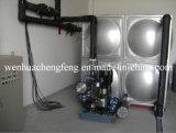 Sistema de bomba de pressão múltipla de pressão constante de freqüência variável