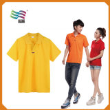 Custom Cotton Pique Mesh Workwear Work Uniform Coverall Polo T-Shirt (HYT-s 023)