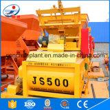 Mezclador concreto del eje del doble de la capacidad grande Js500