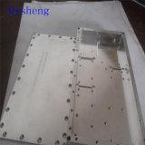 Peças feitas à máquina CNC, mmoendo do Al ou do cobre