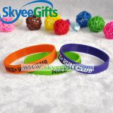 Wristband su ordinazione del silicone di marchio con l'alta qualità
