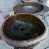 Dispersori rotondi di marmo naturali e del granito per le stanze di lavaggio