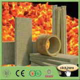 Prova di fuoco della scheda delle lane di roccia dell'isolamento termico della costruzione