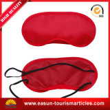 Satin-Schlafen Eyemask für Arbeitsweg-Fluglinien-Gebrauch-Schlaf-Schablone
