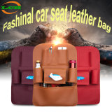 Fashion Multi Pockets Car Back Seat Storage Organizer Sacs en cuir