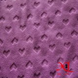 온난한 외투 직물을%s 100%Polyester에 의하여 뜨개질을 하는 극지 양털 직물
