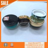 卸し売り装飾的な包装30gは在庫のクリーム色の瓶を空ける