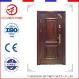 Preço razoável Home Single Metal Safety Door Design