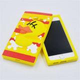 Caixa encantadora do silicone da vaquinha do olá! para o iPhone 5