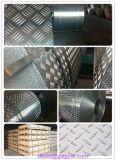 트레일러를 위한 알루미늄 Checkered 격판덮개 5 바 또는 연장통 또는 지면