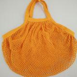 Kundenspezifische waschbare Baumwollineinander greifen-Frucht-Sammeln-Beutel mit Innerhalb-Tasche