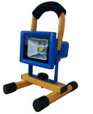 Proyector LED IP65 cargable con carcasa