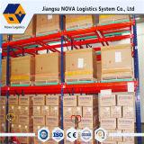 Rack de paletes de empurrar para serviço pesado da Nova Logistics