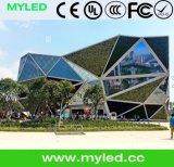 Myled Dreieck HD imprägniern kreativer Entwurfs-im Freien kleine Pixel-Abstand P3.91 LED-Mietbildschirmanzeige mit Qualität
