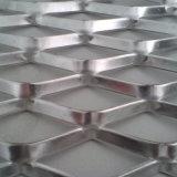 電流を通された40mmx10mmの網のアルミニウムによって拡大される金属の網