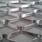 Chapas Galvanizadas 40mmx10mm de malha de metal expandido de alumínio