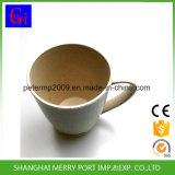14oz de Biologisch afbreekbare Mok van de Koffie van de Vezel van de Tarwe 400ml met Handvat