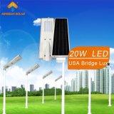 интегрированный солнечный уличный свет 20W (KS-S20)