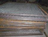 Heiß-Eingetauchter Belüftung-überzogener Kettenlink-Zaun (W-GHW2)