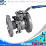 Wb-70 la doppia azione 2PC pneumatico ha flangiato valvola a sfera dell'acciaio inossidabile 1.4308 Dn50 Pn40