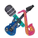 De grappige Goede Opblaasbare Saxofoon van pvc van het Stuk speelgoed van het Spel van het Spel