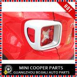 Cubierta blanca material de la lámpara trasera del estilo del ABS del accesorio auto para el modelo renegado (2PCS/SET)