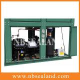 6 unidade de condensação em forma de caixa do cavalo-força V para o quarto frio