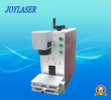 Máquina portable de la marca del laser de la fibra del metal del precio de la fabricación