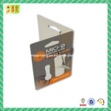Panneau suspendu en papier imprimé pour vêtement / chaussure