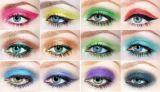 2017 Sombra de ojos popular de un solo color Sombra de ojos Brimming a prueba de sudor