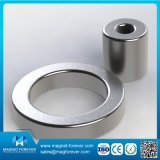 Magnete rotondo di NdFeB del neodimio dell'anello permanente della terra rara per i motori