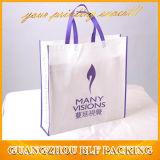 Logo personnalisé non tissés à l'emballage des sacs pour la vente en gros de vêtements