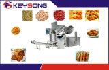 Alimento automático do grupo do petisco que frita a máquina