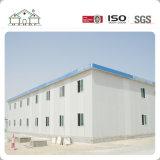 Camera prefabbricata dell'accampamento della costruzione mobile prefabbricata mobile della struttura d'acciaio dei pannelli a sandwich